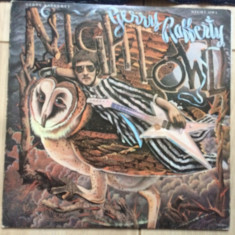Gerry rafferty night owl album disc vinyl lp muzica rock pop made in usa 1979, VINIL