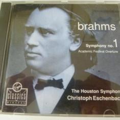 Brahms Sy.1 - cd - Muzica Clasica virgin records