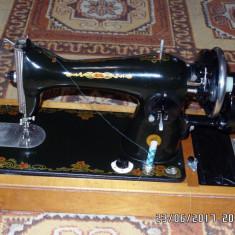 Masina de cusut dupa patent SINGER (Rusia 1968)