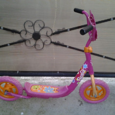 Barbie Trotineta Copii 5-9 ani - Bicicleta copii, 10 inch, Numar viteze: 1