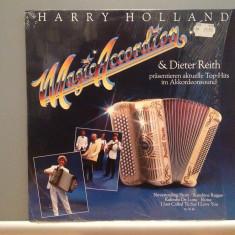 HARRY HOLLAND & DIETER REITH - Magic Accordion (1985/CBS/RFG) - VINIL/ca nou - Muzica Clasica Columbia