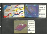CARTELE TELEFONICE ROMANESTI DE COLECTIE, 3 BUCATI KJ421