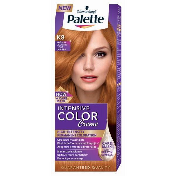 Vopsea De Par Palette Intensive Color Creme K8 Aramiu Deschis 110ml