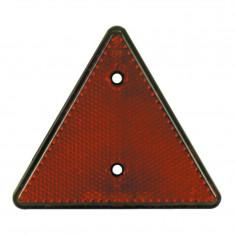 Catadioptru reflectorizant triunghi Carpoint fixare cu surub, 1 buc la blister