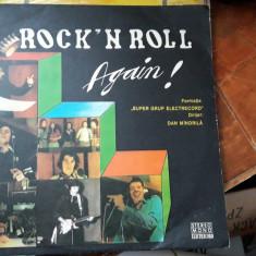 Rock'n Roll Again  SUPER GRUP ELECTRECORD, VINIL