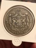 5 lei 1883 Frumos