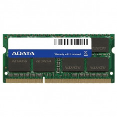 Memorie laptop ADATA, 8GB DDR3L, 1600MHz, CL11, ADDS1600W8G11-S - Memorie RAM laptop