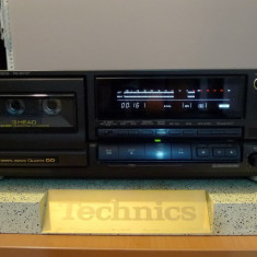 Deck Technics RS-BX727 3 head, bias, direct drive, Class AA, poze reale - Deck audio