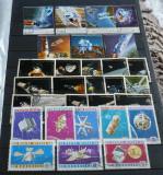 YEMEN, YAR, MONGOLIA - COSMOS. 3 serii stampilate, LOT242, Stampilat