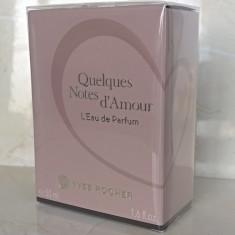 Apa de parfum Quelques Notes d'Amour (Yves Rocher) - Parfum femeie Yves Rocher, 50 ml