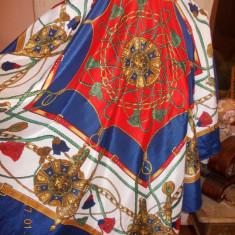 ESARFA HERMES MATASE NATURALA 87/87 CM - Esarfa, Sal Dama, Culoare: Din imagine, Marime: Marime universala