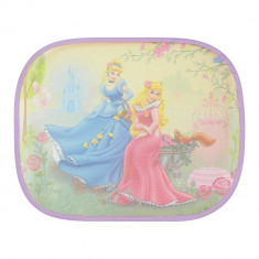Set parasolare laterale Princess \'Cinderella & Aurora\', 44x36 cm, set 2 buc. - Parasolar Auto