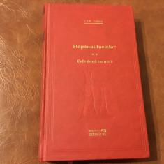 Carte biblioteca Adevarul - Stapanul inelelor volumul II de J R R Tolkien 444pag - Roman