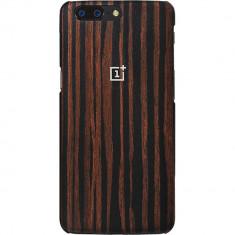 Husa Protectie Spate OnePlus 5431100013 Wood Maro pentru ONEPLUS 5 - Husa Telefon