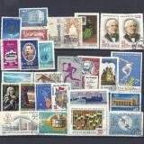 ROMANIA – 25 serii complete DIFERITE stampilate, LOT31 - Timbre Romania