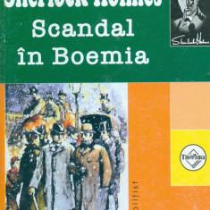 Sherlock Holmes. Scandal in Boemia - Conan Doyle - Carte politiste