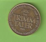 Medalie   TRIMM  TALER   GERMANIA / 1985 -  FRUMOASA !, Europa