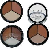 Trusă contur față – bronzer, blush & hightlighter Ushas