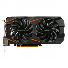 Placa video GIGABYTE NVIDIA GeForce GTX 1060 Windforce OC, 6GB GDDR5, 192bit, N1060WF2OC-6GD - Placa video PC