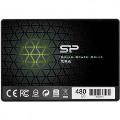 SSD Silicon-Power Slim S56 Series 480GB SATA-III 2.5 inch, SATA 3