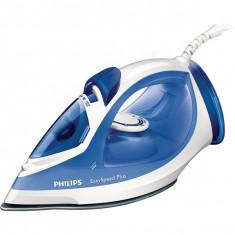 Fier de calcat PHILIPS EasySpeed GC2046/20, 110g/min, 2200W, alb - albastru, Ceramica