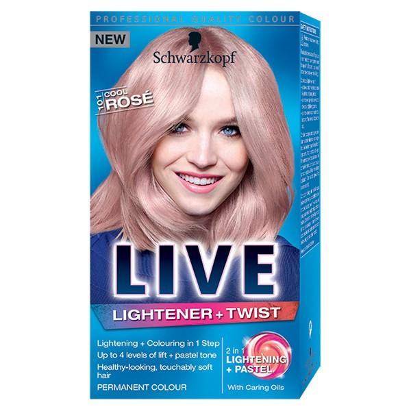 Vopsea De Par Schwarzkopf Live Rose Blonde 101 1425ml Arhiva