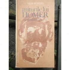 MITURILE LUI HOMER SI GANDIREA GREACA - FELIX BUFFIERE - Carte mitologie