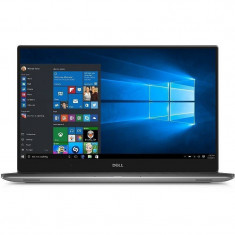 Laptop Dell XPS 15 9560 15.6 inch UHD Touch Intel Core i5-7300HQ 8GB DDR4 256GB SSD nVidia GeForce GTX 1050 4GB Windows 10 Pro Silver 3Yr NBD