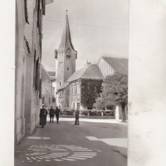 Bnk cp Sibiu - Vedere - uzata - Carte Postala Transilvania dupa 1918, Necirculata, Printata