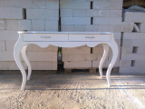 Consola birou masa vintage din lemn masiv