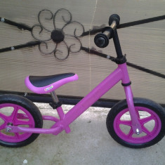Bopp / bicicleta fara pedale 2 - 4 ani - Bicicleta copii, 10 inch, Numar viteze: 1