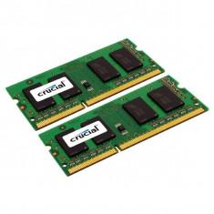 Memorie laptop CRUCIAL CT2KIT102464BF160B, 16GB DDR3L, 1600MHz, CL11 - Memorie RAM laptop
