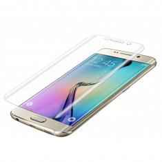 Folie full screen Samsung Galaxy S6 Edge Plus - Folie de protectie, Sticla