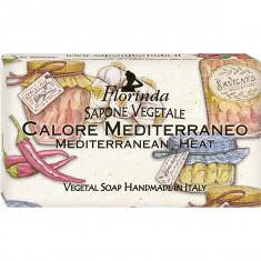 Sapun vegetal LA DISPENSA Mediterranean Heat Florinda 650/2, 100g