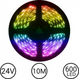 PROMOTIE! DECOREAZA MINUNAT CU BANDA LED RGB COLOR,LUNGIME 10 METRI,ADEZIVA 3M.