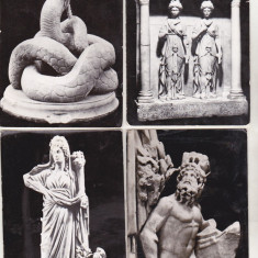 Bnk cp Constanta - Muzeul arheologic - lot 8 carti postale uzate - Carte Postala Dobrogea dupa 1918, Circulata, Printata