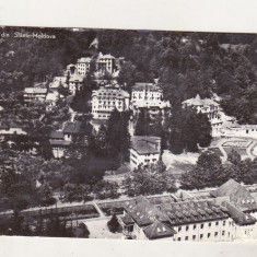 Bnk cp Slanic Moldova - Vedere - uzata - Carte Postala Moldova dupa 1918, Circulata, Printata