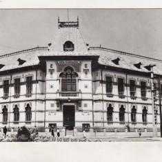 Bnk cp Targu Jiu - Liceul T Vladimirescu - uzata - Carte Postala Oltenia dupa 1918, Circulata, Printata