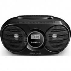 Radio CD PHILIPS Soundmachine AZ318B/12, FM, USB - Aparat radio
