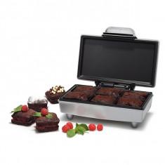 Aparat pentru preparat prajitura brownie TRISTAR SA-1125, 800 W, argintiu - Aparat Desert