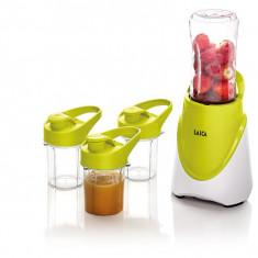 Mini blender LAICA BC1009, 300W, 0.400l, alb-verde