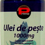 Ulei de peste, OMEGA 3, 1000 mg, 100 capsule moi