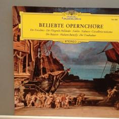 POPULAR OPERA CHOIR - VERDI/WEBER.(1961/DEUTSCHE GRAMMOPHONE/RFG) - VINIL/Ca NOU - Muzica Clasica deutsche harmonia mundi