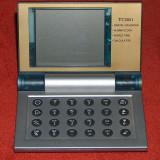 Ceas - calendar de masă Pall Mall electronic - Ceas de masa