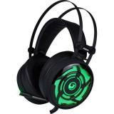Casti gaming Marvo HG8946 Black / Green