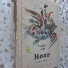 Basme (cotor Rupt, Interior Ok) - Vladimir Colin, 408135 - Carte Basme