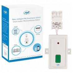 Releu inteligent PNI SmartHome SM433 pentru deschidere porti si usi cu actionare manuala sau prin internet, alb - Priza