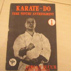 KARATE-DO TEME PENTRU ANTRENAMENT ADRIAN BUCUR - Carte sport