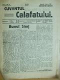 Cuvantul Calafatului 1936 1 martie banca Constantinescu Badea Ionascu Marasesti