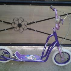 Purple Moon by Magna trotineta copii 6-8 ani - Bicicleta copii, 12 inch, Numar viteze: 1
